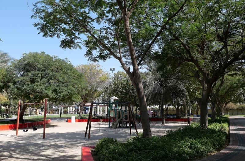 DUBAI, UNITED ARAB EMIRATES , Feb 08 – View of the Safa park 2 in Umm Suqeim area in Dubai. (Pawan Singh / The National) For News/Stock/Online/Instagram. Story by Georgia