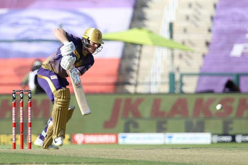 Eoin Morgan captain of Kolkata Knight Riders plays a shot during match 35 of season 13 of the Dream 11 Indian Premier League (IPL) between the Sunrisers Hyderabad and the Kolkata Knight Riders at the Sheikh Zayed Stadium, Abu Dhabi  in the United Arab Emirates on the 18th October 2020.  Photo by: Vipin Pawar  / Sportzpics for BCCI
