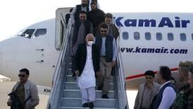 President Ashraf Ghani flies into besieged northern Afghan city as Taliban gain territory